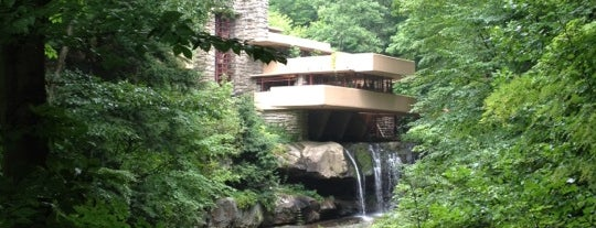 Fallingwater is one of Destination: Pittsburgh.