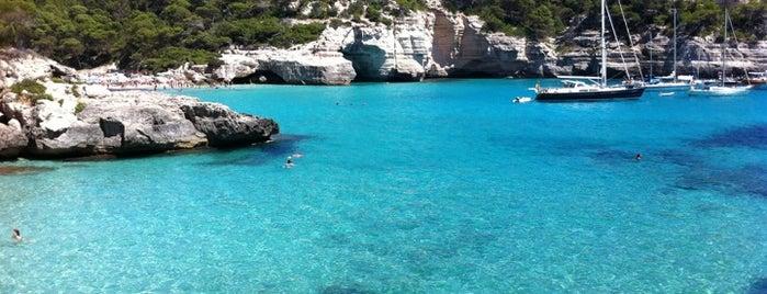 Cala Mitjana is one of Menorca.