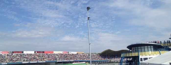 TT Circuit is one of Race Tracks.