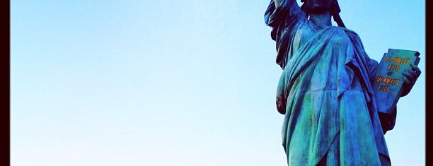 Statue of Liberty is one of Bucket List Places.