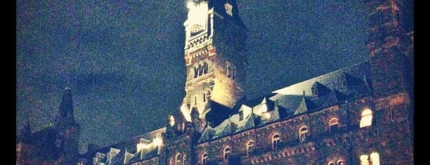 Georgetown University is one of College Love - Which will we visit Fall 2012.