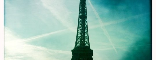 Eiffel Tower is one of memorable tourist-y places.