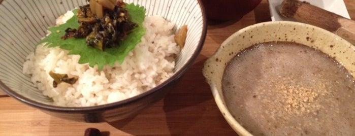 自然薯 tororo is one of favorite place.