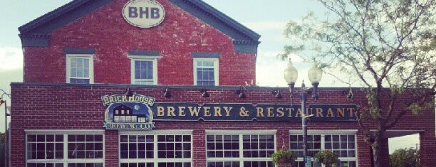 BrickHouse Brewery & Restaurant is one of Venues We've Visted.