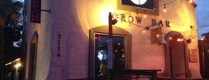 Crow Bar is one of barz.