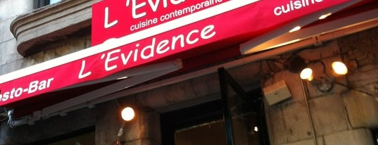 L'Évidence is one of Brunch.