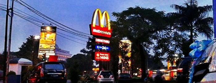 McDonald's is one of Must-visit Food in Bogor.