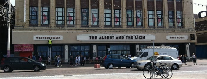 The Albert and The Lion (Wetherspoon) is one of Favourite Boozers.