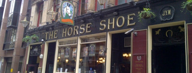 The Horse Shoe Bar is one of Glasgow-go-go!.