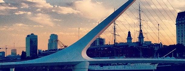 Women's Bridge is one of Buenos Aires - Puerto Madero.