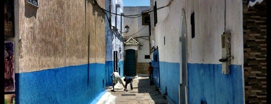 Kasbah Des Oudayas is one of Casablanca to do list.