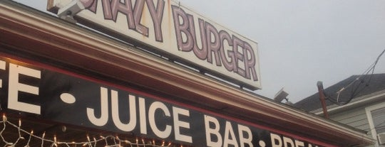 Crazy Burger Cafe & Juice Bar is one of Best Places to Check out in United States Pt 5.