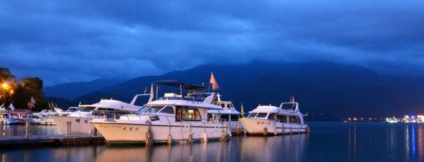 Sun Moon Lake is one of Taiwan.