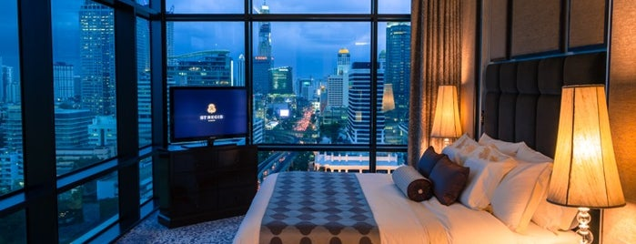 The St. Regis Bangkok is one of Origin Rest.