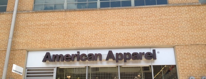 American Apparel is one of Guide to Mockingbird Village.