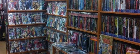 Librería Gigamesh is one of Tiendas de cómics, rol & merchan, en Barcelona.