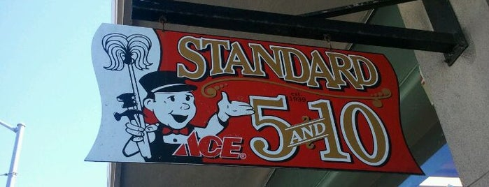 Standard 5 & 10 Ace is one of Stacey and Me.