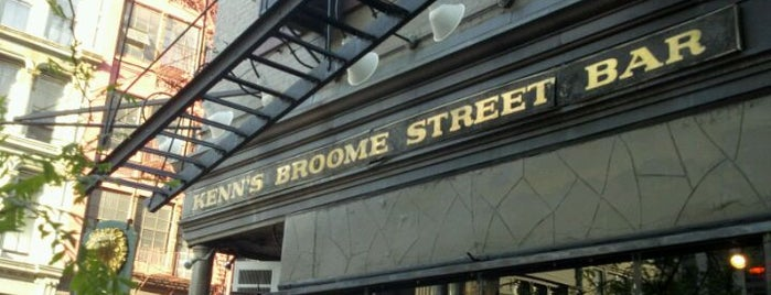 Broome Street Bar is one of Places I Frequent.
