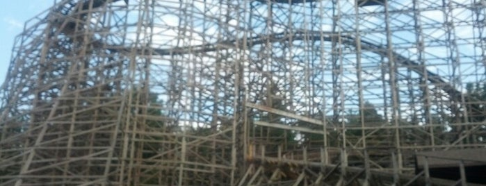 Twister Roller Coaster is one of Favorite Arts & Entertainment.