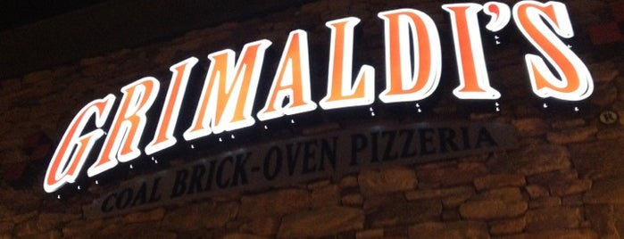 Grimaldi's Coal Brick-Oven Pizzeria is one of Great Places to Eat in Vegas!.