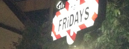 TGI Fridays is one of Lugares.