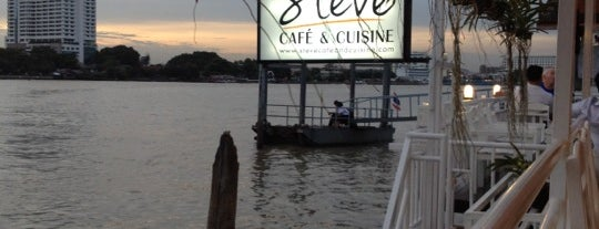 Steve Cafe & Cuisine is one of Wanna getting there..