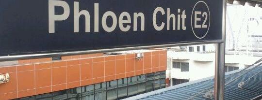 BTS Phloen Chit (E2) is one of BTS Station - Sukhumvit Line.