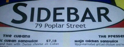 Sidebar is one of Resturants to try.