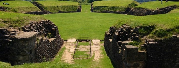Caerleon Roman Amphitheatre is one of Things around Newport.