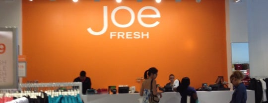 Joe Fresh is one of Ferias USA 2012.