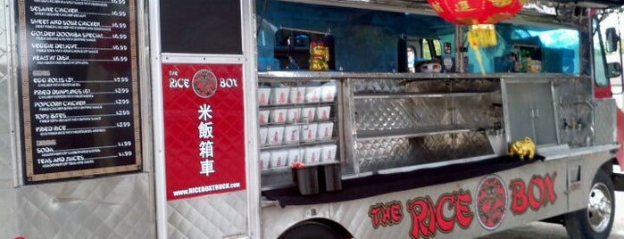 The Rice Box is one of Houston Press 2012 - 100 Favorite Dishes.
