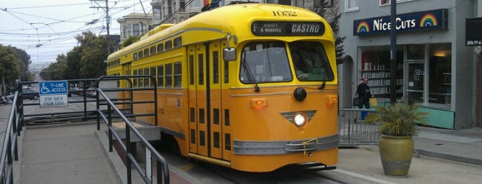 MUNI F Street Car Line is one of California Road Trip.