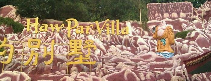 Haw Par Villa is one of Singapore's Popular Places.