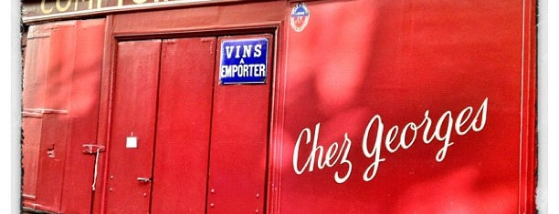 Chez Georges is one of The VERY best wine bars in Paris.