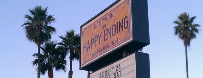 The Happy Ending Bar & Restaurant is one of Recommendations from you to me 4square and 4cast.