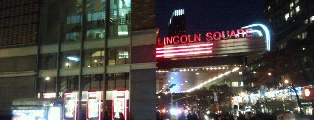 AMC Loews Lincoln Square 13 is one of NYC to do.