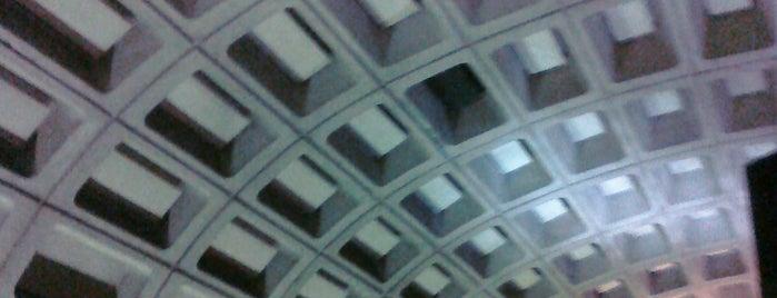 Foggy Bottom-GWU Metro Station is one of WMATA Silver Line.
