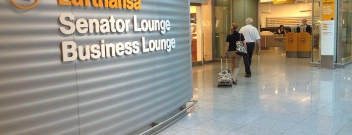 Lufthansa Business Lounge (Schengen) is one of Lufthansa Lounges.