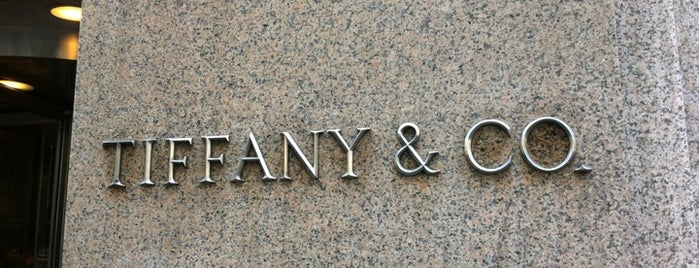Tiffany & Co. is one of New York.