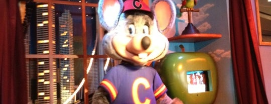 Chuck E. Cheese's is one of Favorite Food.