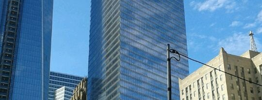"""American Express Tower is one of """"Be Robin Hood #121212 Concert"""" @ New York!."""