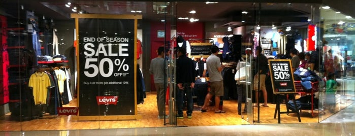 Levi's Store is one of favourite Store.