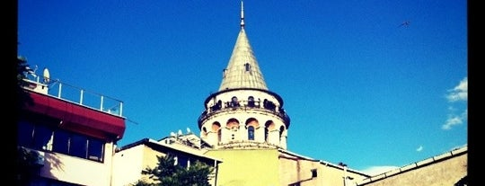 Galata Tower is one of Restorant.