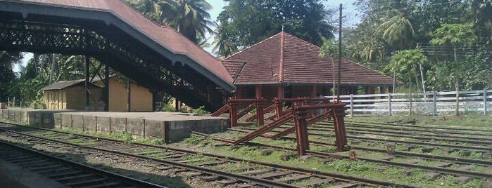 Rambukkana Railway Station is one of Railway Stations In Sri Lanka.