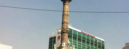 Monumento a la Independencia is one of Distrito Federal - Foro Consultivo 2011.