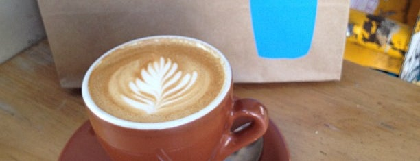 Blue Bottle Coffee is one of San Francisco Eats.