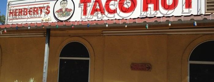 Herbert's Taco Hut is one of San Marcos, TX.