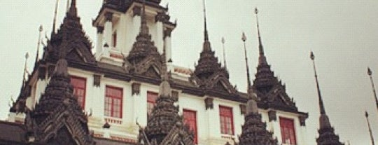 Loha Prasat is one of Holy Places in Thailand that I've checked in!!.