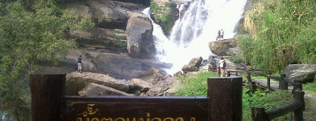 Mae Klang Waterfall is one of Guide to the best spots Chiang Mai|เที่ยวเชียงใหม่.