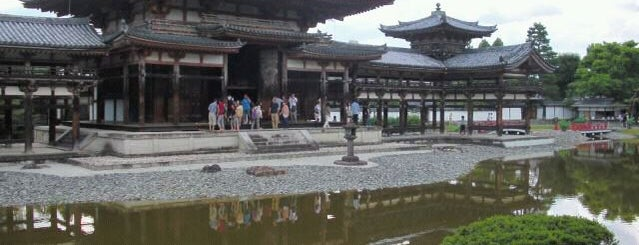 Byodo-in Temple is one of kyoto.